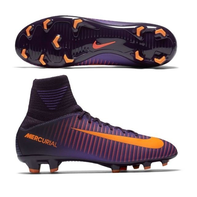 5a676969 Детские бутсы Nike MERCURIAL SUPERFLY V FG JR 831943-585: EU-36