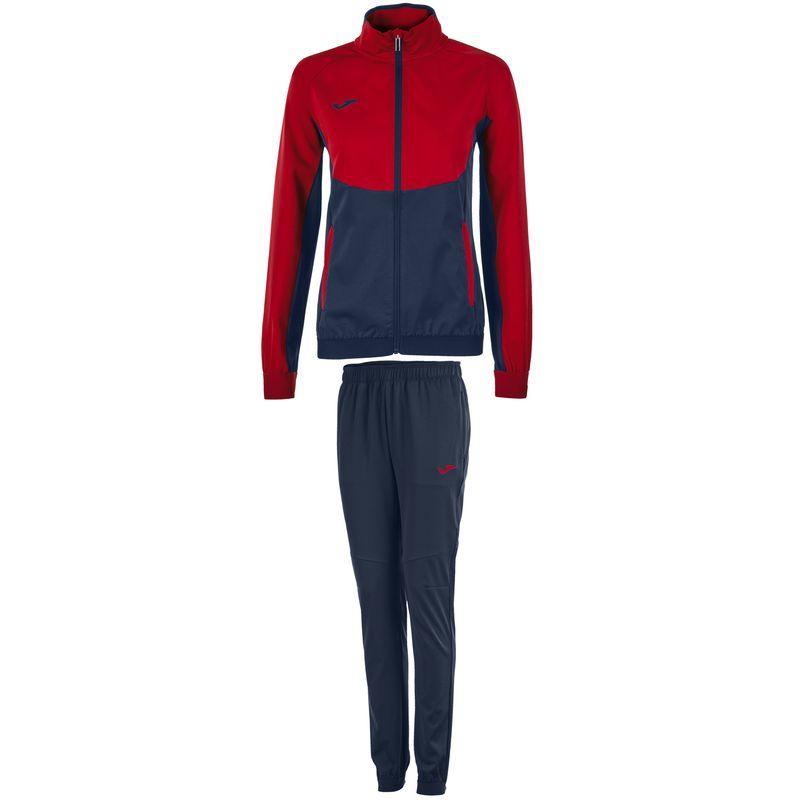 f0bb69cf6d8 Спортивный костюм женский Joma ESSENTIAL 900700.306 т.сине-красный  M