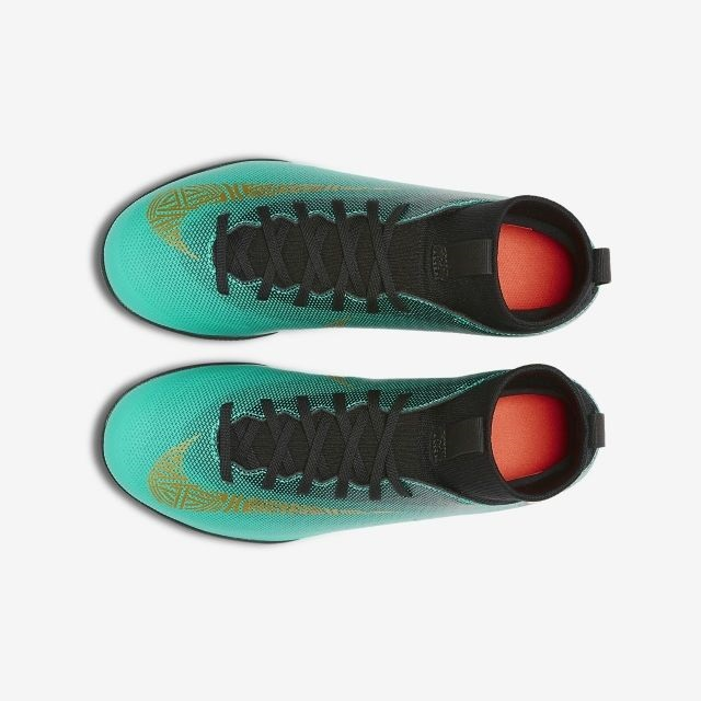 6d116bcefb7 Детские футзалки Nike JR MercurialX Superfly 6 Club CR7 IC AJ3087-390